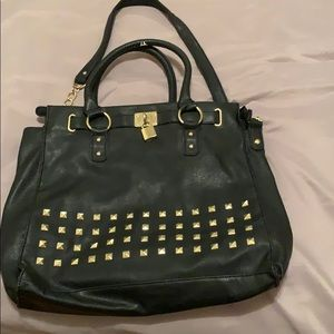 Handbags - Black Leather HandBag